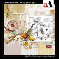 ArtPlay Palette Ochre Released 09 August 2019  #annaaspnes of #aA designs #annaaspnes #digitalart #digitalartist #digitalartistry #digitalcollage #collage #digitalphotography #photocollage #art #design #artjournaling #digital #digital #scrapbooking #digitalscrapbooking #scrapbook #modernart #memorykeeping #photoshop #photoshopelements