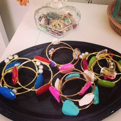 My bangle obsession is a little crazy.