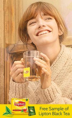 Free Sample of Lipton Black Tea