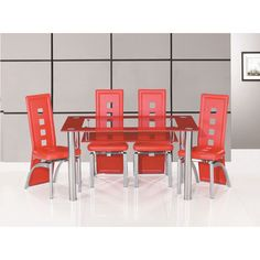 Features:• Club large glass dining table only• A fantastic glass Dining table will add a touch of class to your dining room • An undershelf to provide you extra space• An eye ca...