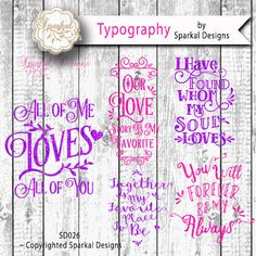 Valentine Quotes Cutting design  A Bundle of by SparkalSVGDesigns #SVGCuttingFiles #FreeSVGFiles