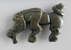 Plaque Western Inner Mongolia, 4th-3rd century B.C. Sculpture; plaques Bronze, cast