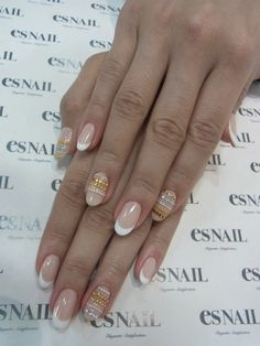 use caviar to create designs in your manicure, not just an all over look: