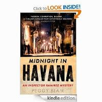 Bookaholic: Midnight in Havana by Peggy Blair - Police Procedural