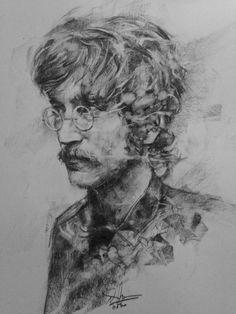 Portrait Sketches, Portrait Art, Drawing Sketches, Pencil Sketching, Cool Art Drawings, Drawing Faces, Art Studio Organization, Watercolor Water, Perspective Art
