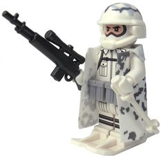 Custom LEGO Military Soldier Minifigure Model Soldiers US Modern Combat Sub Zero Sniper