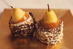 Delicious, juicy & fresh...melt in your mouth Caramel & Chocolate dipped Pears!!!   www.hanselandgretelcandykitchen.com  1-800-524-3008