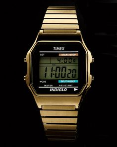 TIMEX, INDIGLO 80's Style