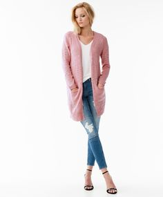 Comfy knitted cardigan with two pockets | Gina Tricot New Arrivals | www.ginatricot.com | #ginatricot
