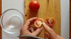 Как нарезать помидоры для салата/Полезные советы - How to cut tomatoes f...