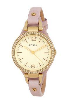 Georgia Women's Dress Watch by Fossil on @HauteLook