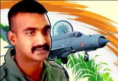 Brave pilot Abhinandan will get Vir Chakra- After the Balakot Air Strike, the brave commander Abhinandan present of the valiant brave Indian Air Force. Air Force Aircraft, Fighter Aircraft, Fighter Jets, Raksha Bandhan Songs, Mig 21, Indian Air Force, The Valiant, Air Raid, Dog Fighting