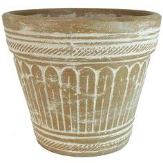This PR Imports 19 in. Dia Roman Outdoor Vase in Antique Sand Color offers great versatility for all your garden needs. The natural terracotta construction of this pot stimulates root growth and healthy Clay Pots, Terracotta, Roman, Planter Pots, Pottery, Vase, Sculpture, Antiques, Garden Ideas