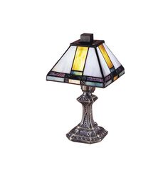 18 best small table lamp images on pinterest tiffany lamps table dale tiffany 8706 classic tranquility mission mini accent lamp aloadofball Gallery