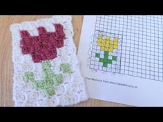 (13) How to design your own Graphgan C2C crochet project - YouTube