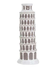 Look at this #zulilyfind! Leaning Tower of Pisa Salt & Pepper Shakers #zulilyfinds
