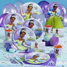 Princess and the Frog Party Pack