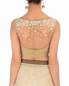 Yoke stylish blouse .. perfect for Party..