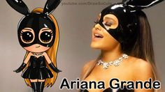 How to Draw Chibi Ariana Grande step by step Cute Dangerous Woman Music ...