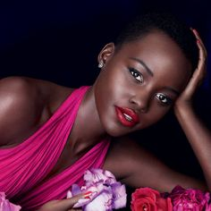 Watch the behind-the-scenes video of Lupita Nyong'o's latest beauty campaign for Lancome.