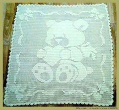 Manta infantil diseño de oso | Manualidades                                                                                                                                                                                 Más