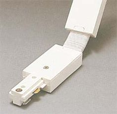 PLC Lighting Circuit Flexible Connector Finish / Circuit: White / Two Commercial Lighting, Socket Set, Bronze Finish, Track Lighting, Circuit, Flexibility, It Is Finished, Accessories