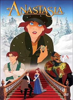 NOT A DISNEY FILM! Anastasia (Don Bluth & Gary Goldman, *** An average Disney film, not a patch on The Little Mermaid or The Beauty and the Beast (my favourites). Walt Disney, Disney Films, Disney Cinema, Classic Disney Movies, Cartoon Movies, Hd Movies, Movies Online, Movies And Tv Shows, Watch Movies
