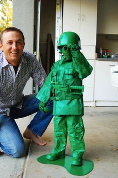Army Guy for Halloween.  Some kids are just cooler than others--