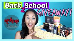 Help me share this amazing HUGE Makeup Giveaway!