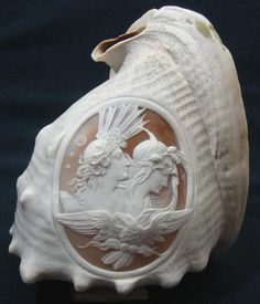 Italian whole Sardonyx shell carved cameo...not exactly jewelry, but a lovely cameo.