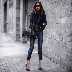 """3,354 Likes, 61 Comments - Erica Hoida • FashionedChic (@fashionedchicstyling) on Instagram: """"{new outfit post} classic with a twist with @ragandbone. Hope to see you at FashionedChic.com!…"""""""