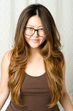 my virgin hair needs a makeover in the form of balayage ombre highlights, yes!