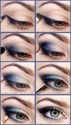 """C History of eye makeup """"Eye care"""", put simply, """"eye make-up"""" Eye Makeup Steps, Simple Eye Makeup, Makeup Tips, Beauty Makeup, Hair Makeup, Makeup Art, Online Makeup Courses, Makeup Online, Korean Makeup Tutorials"""