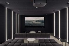 Home Theater Setup with Home Theater Seating Home Theater Room Design, Home Cinema Room, Home Theater Furniture, At Home Movie Theater, Home Theater Setup, Home Theater Rooms, Home Theater Seating, Family Room Design, Home Theatre
