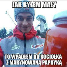 Read from the story Memy i cytaty ze skoków narciarskich by (I ¢αη ƒℓу 💗) with 542 reads. No to teraz już wszystko. Stupid Funny Memes, Wtf Funny, Funny Shit, Ski Jumping, Best Memes, Cyberpunk, Skiing, Humor, Sports