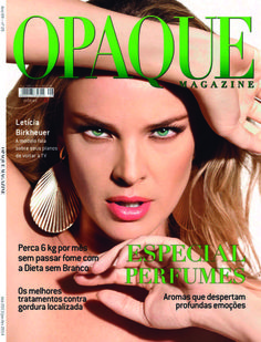 Opaque Magazine traz entrevista exclusiva com a modelo Letícia Birkheuer