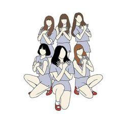 Gfriend And Bts, Girl Korea, G Friend, Kpop Fanart, Queen B, Mamamoo, Monsta X, Ikon, Shinee