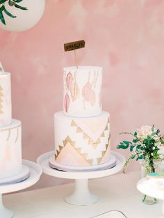 Kidchella themed girls boho birthday party for Amanda Stanton Third Birthday Girl, 10 Birthday Cake, Wild One Birthday Party, Happy Birthday Baby, 10th Birthday Parties, 13th Birthday, Bohemian Cake, Bohemian Party, Fondant Girl