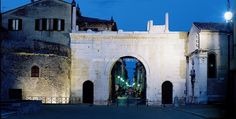 Fano, Arch of Augustus - Italy