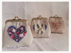 Beautiful purses made with love