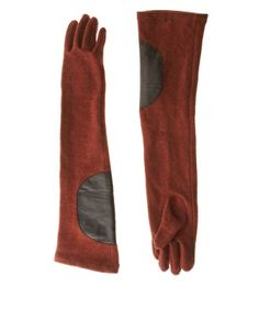 elbow patch gloves