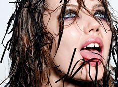 Lindsey Wixson by Richard Burbridge for Interview Germany September 2014