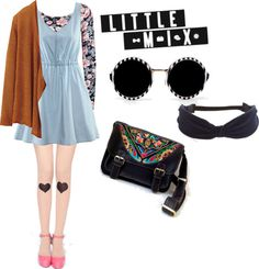 """Just a little mix = Match !!!"" by ila-yaseen on Polyvore"