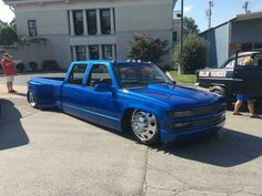Chevy crew cab dually..