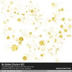 - Be Golden Clusters No. 02 at Designer Digitals
