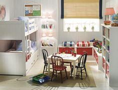 25 Shared Kids Bedroom Design Ideas