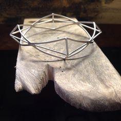 Geometria, t'odio i t'estimo  #jewel #handmade #silver #marianinot #bracelet #geometry
