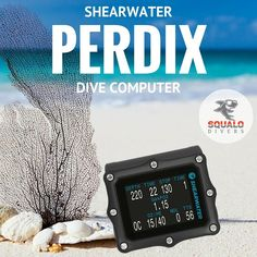 Shearwater Research is proud to present their newest dive computer: The Perdix. Merging state of the art manufacturing techniques and innovative engineered materials, Shearwater has successfully developed a low-profile, sleekly contoured design without sacrificing features vital to technical divers.   #SqualoDivers #scuba #diving Best Scuba Diving, Scuba Diving Gear, Technical Diving, Scuba Diving Equipment, State Art, Gears, Innovation, Engineering, Profile