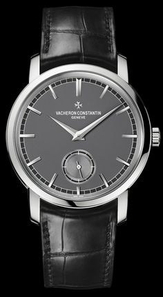 Patrymony Traditionnelle Small Seconds watch by Vacheron Constantin on www.presentwatch.com