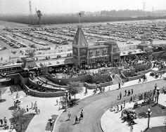 Opening day at Disneyland July 17th 1955